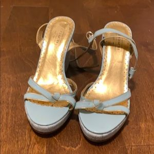 Coach wedge sandal heel